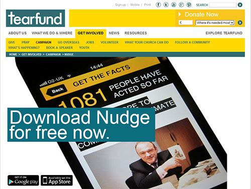 nudge-webpage