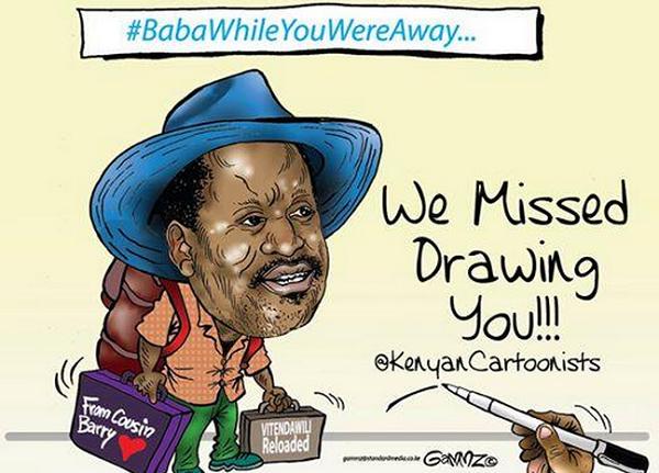 #BabaWhileYouWereAway